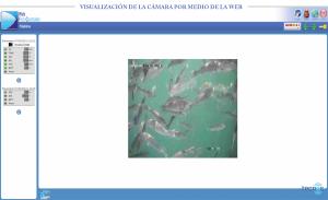 Visualización de Cámara para granjas acuícolas
