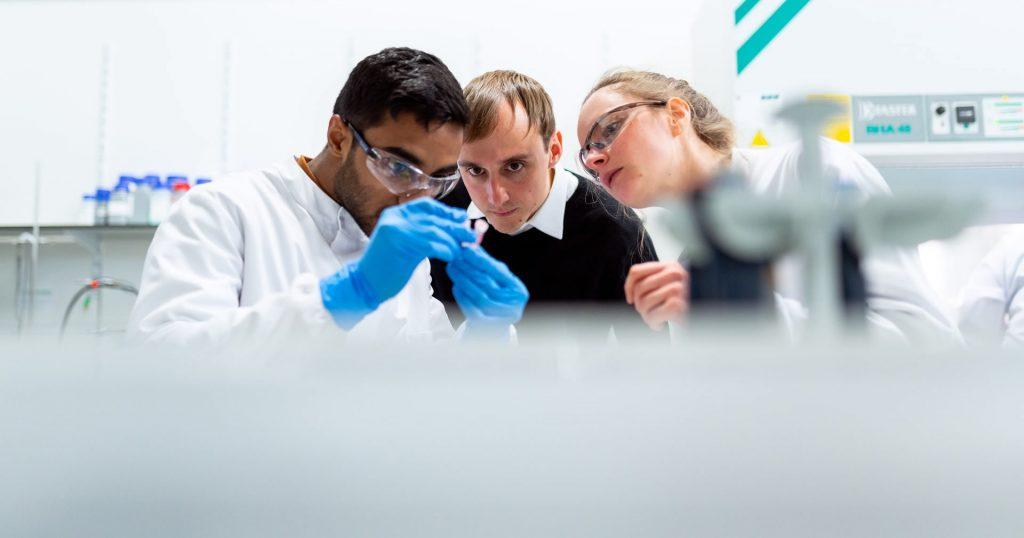 investigación y desarrollo de laboratorio